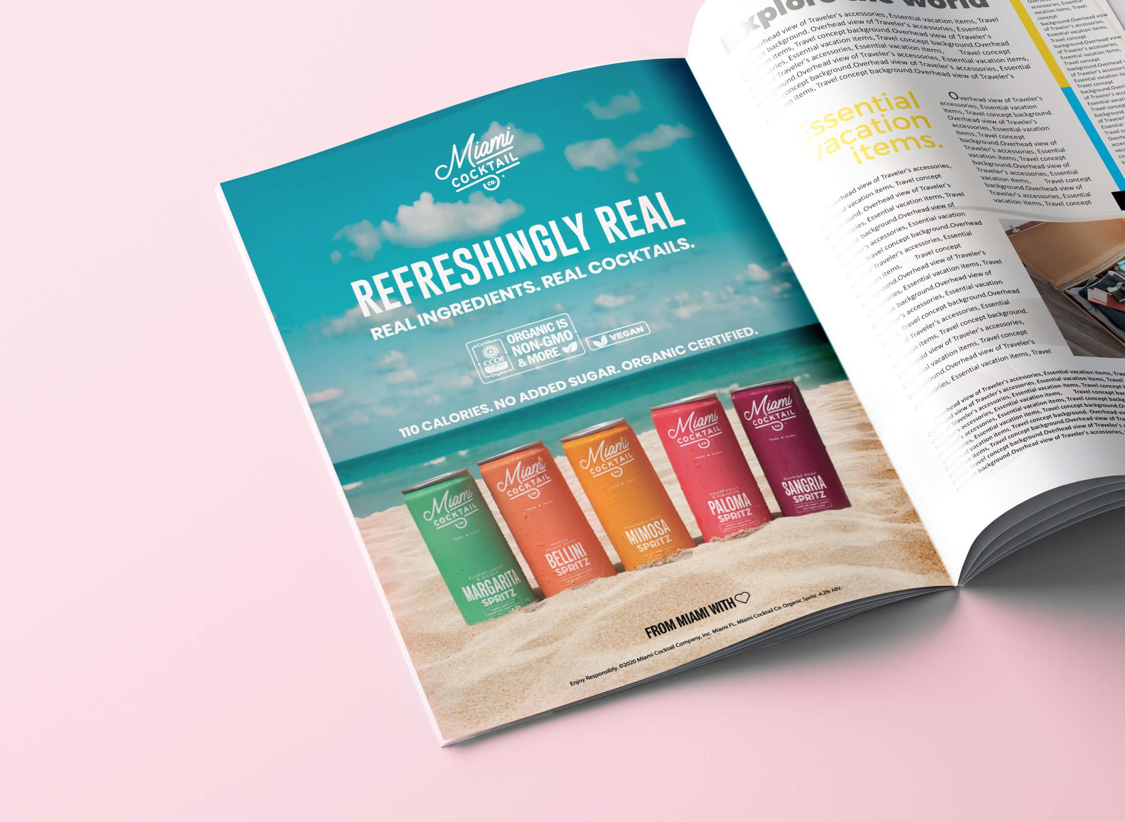 Miami Cocktail Print AD copy