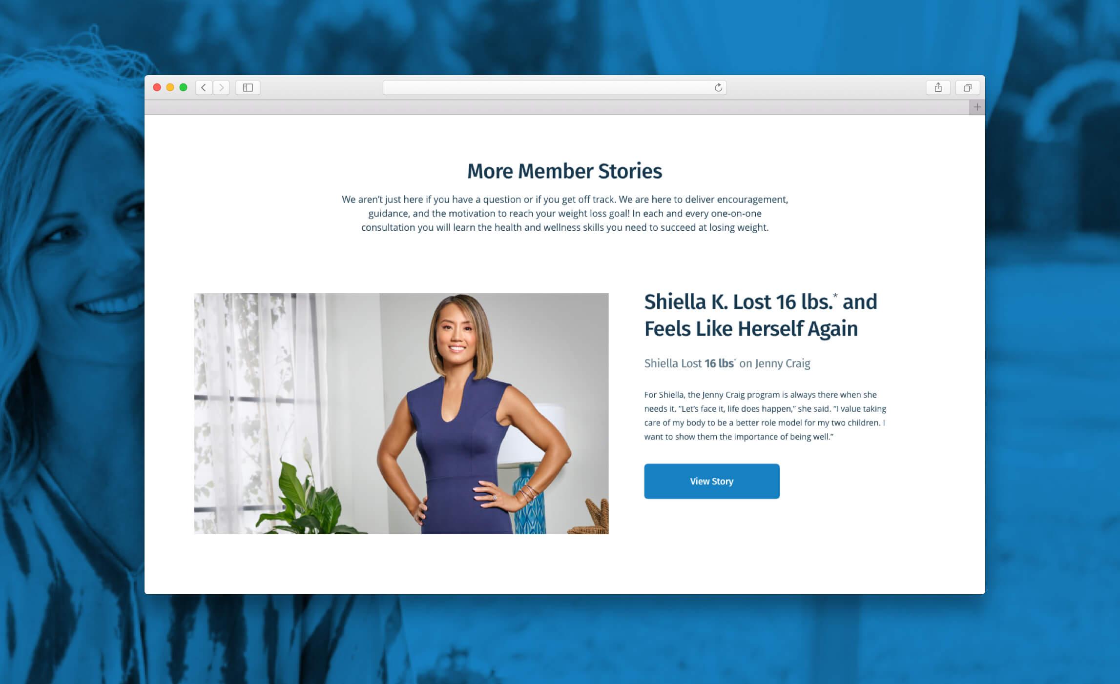 Jenny Craig Member Stories