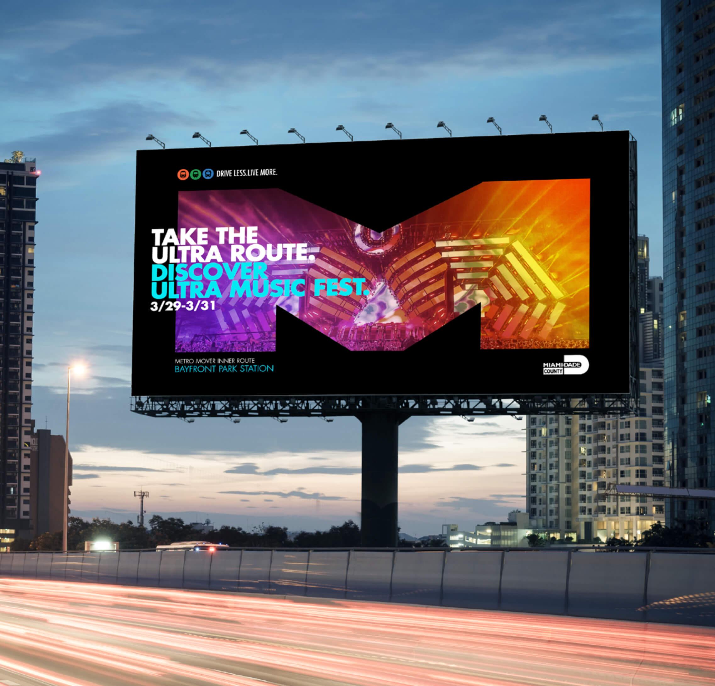 Miami Dade Transit Billboard