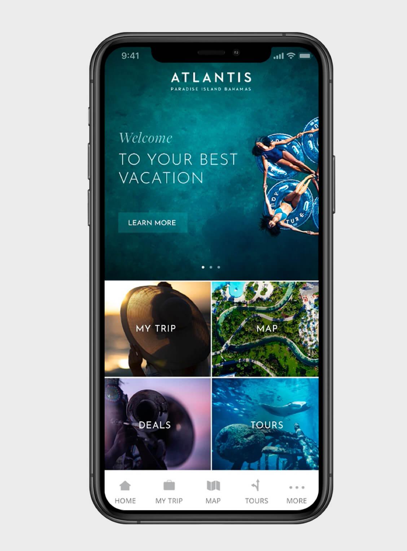 Atlantis Mobile App Design