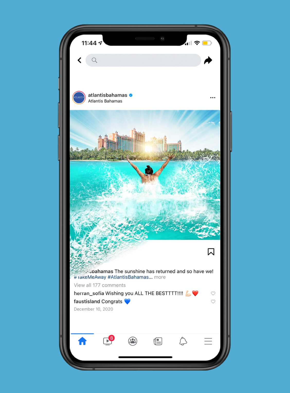Atlantis Mobile Facebook Ads