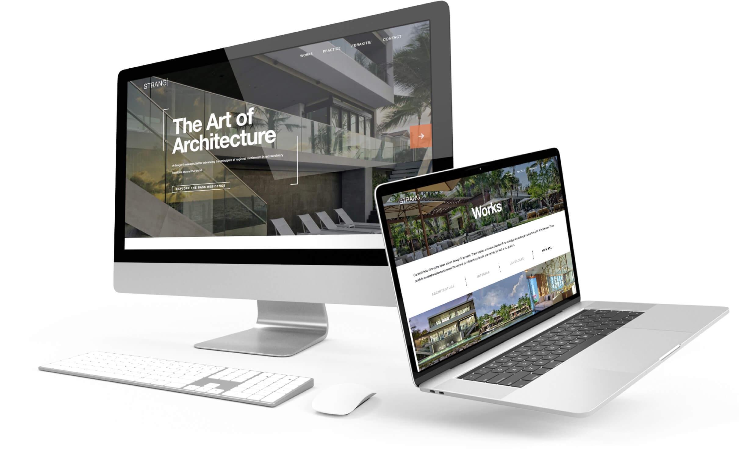 Strang Web Page Designs