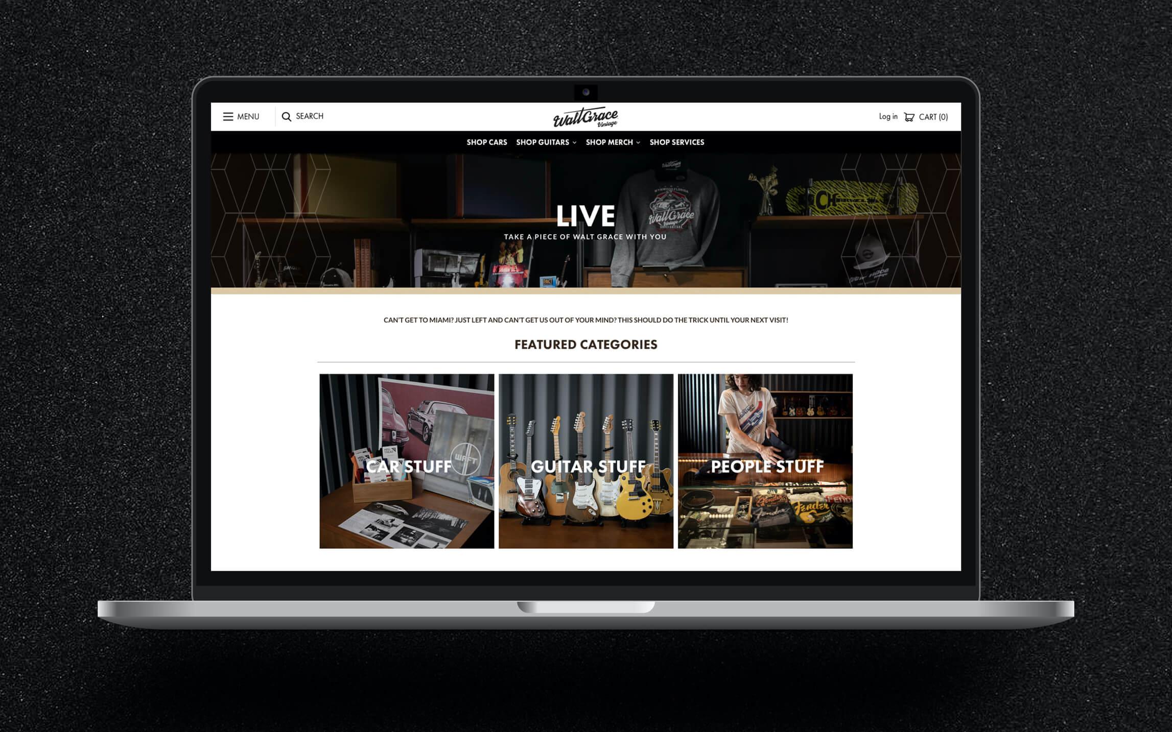 Walt Grace Home Page
